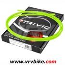 ELVEDES - TRIVIO - Kit cables / gaines complet av+ar derailleur  VERT