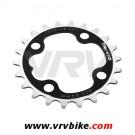 FSA - TRIVIO - plateau VTT BCD aluminium noir 4 trous 64 - 22