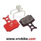 JAGWIRE - plaquettes Formula R1 The one mega semi métallique + ressort mountain sport rouge