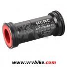 KCNC - boitier Press fit BB 89.5 à 92 pedalier standard 24 mm VTT NOIR shimano fsa
