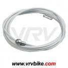 KCNC - cable frein route teflon TEFLONNE couleur BLANC