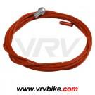 KCNC - cable frein route teflon TEFLONNE couleur ROUGE