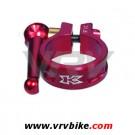 KCNC - collier de serrage tige de selle SC10 rapide 31.8 ROUGE