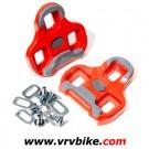 LOOK - cales pour pedales keo version grip rouge 9°