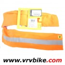 MAVIC - manchettes orange fluorescent reflechissant Vision Arm Warmer taille XL