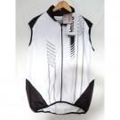 ONDA - Veste coupe vent sans manche Wind Block membrane TEK Minho blanc noir taille XL