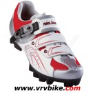 PEARL IZUMI - chaussures VTT MTB Race Dame rouge / blanc / argent taille 41