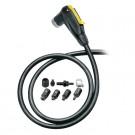 """TOPEAK - Upgrade kit Smart Head pour toute pompe a pied comprenant long flexible, raccords et tete """"intelligente"""""""