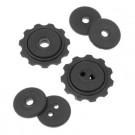 TACX - paire galets roulettes de derailleur T4080 SRAM X9, XO ...