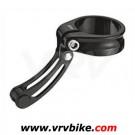 TEKTRO - collier serrage tige de selle butée arret cable cyclo cross NOIR 34.9 1276A