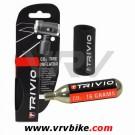 XXX - TRIVIO - Gonfleur adaptateur CO2 PRO + 1 cartouche CO2 filet 16 grs