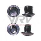 XXX - 4 vis bouchons tasseaux de freins alu 8 et 10 mm