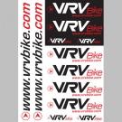 VRV - autocollants stickers a decouper (planche A6) ! gratuit