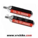 XXX - cartouche CO2 filetée / avec filet Modele gros volume 25 grs PAR 2
