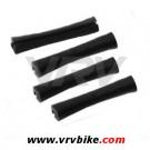 XXX - Protection tube caoutchouc sur gaine noir (4 pièces)