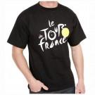 """Tee shirt """"le tour de france"""" noir taille S"""
