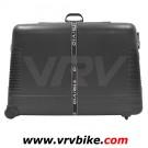 XXX - valise coffre ABS transport velo vtt route à roulette + housse roue pour voyage avion train (cycle bag bikecase travel)